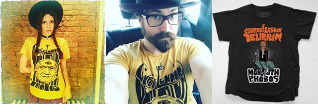 THE CLAYPOOL LENNON DELIRIUM t-shirts