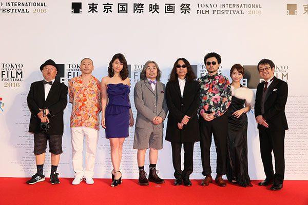 東京国際映画祭レッドカーペット