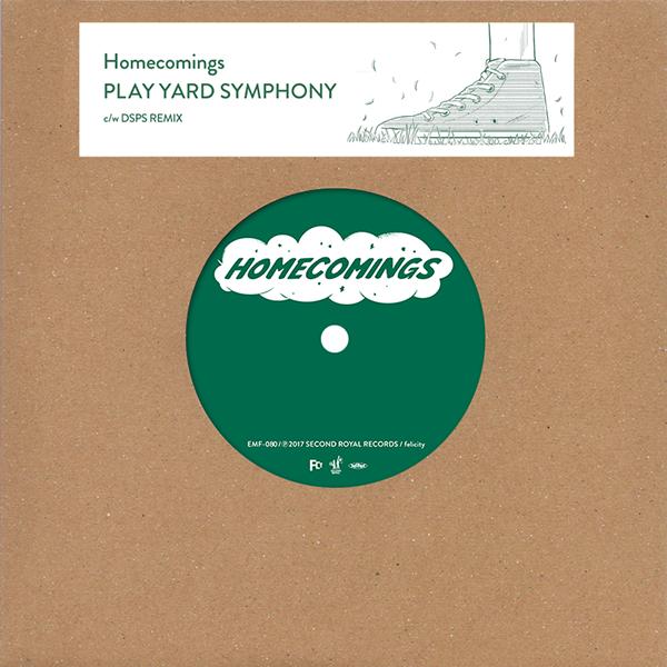 "Homecomings - PLAY YARD SYMPHONY (7"")"