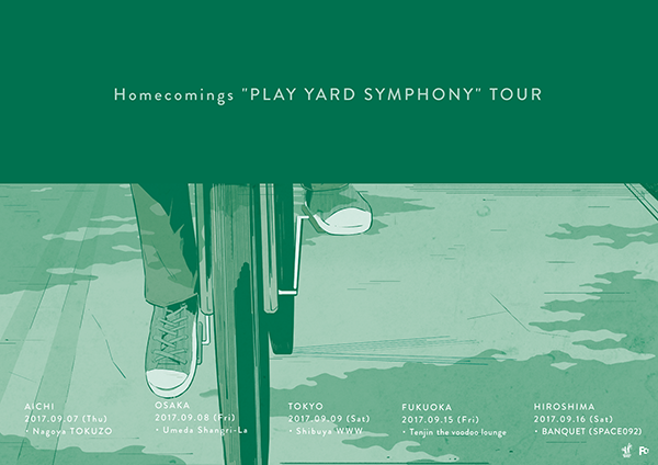 "Homecomings ""PLAY YARD SYMPHONY"" TOUR"