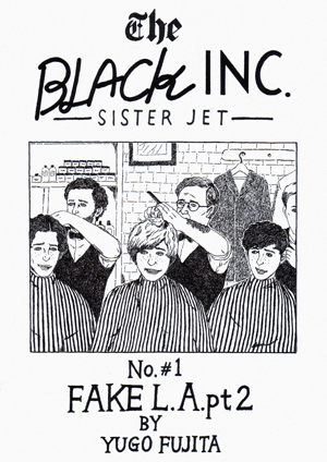 「The BLACK INC.SISTERJET」