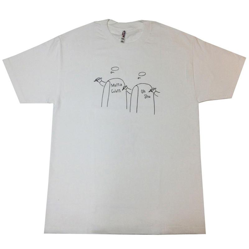 王舟 Mattia Colettii & Oh Shu Tシャツ