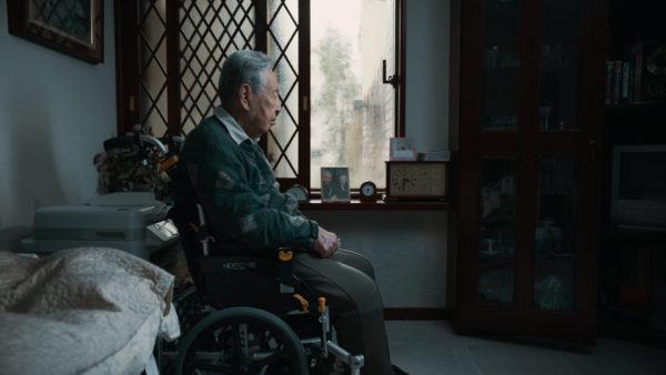 [七尾旅人「蒼い魚」から着想を得て、映像監督・河合宏樹が98歳の日本舞踊家・藤間紋寿郎の日常を追いながら完成させたドキュメンタリー・ミュージックビデオ「